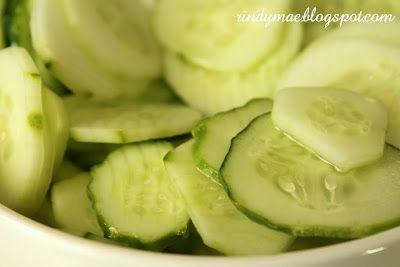Grandma's Cucumber Chips