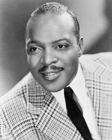 Photo of Count Basie. In late May,1943 Jazz pianist Count Basie and his Orchestra recorded material for Jubilee at NBC Radio City, in Hollywood, Ca - GMA AFRS-632