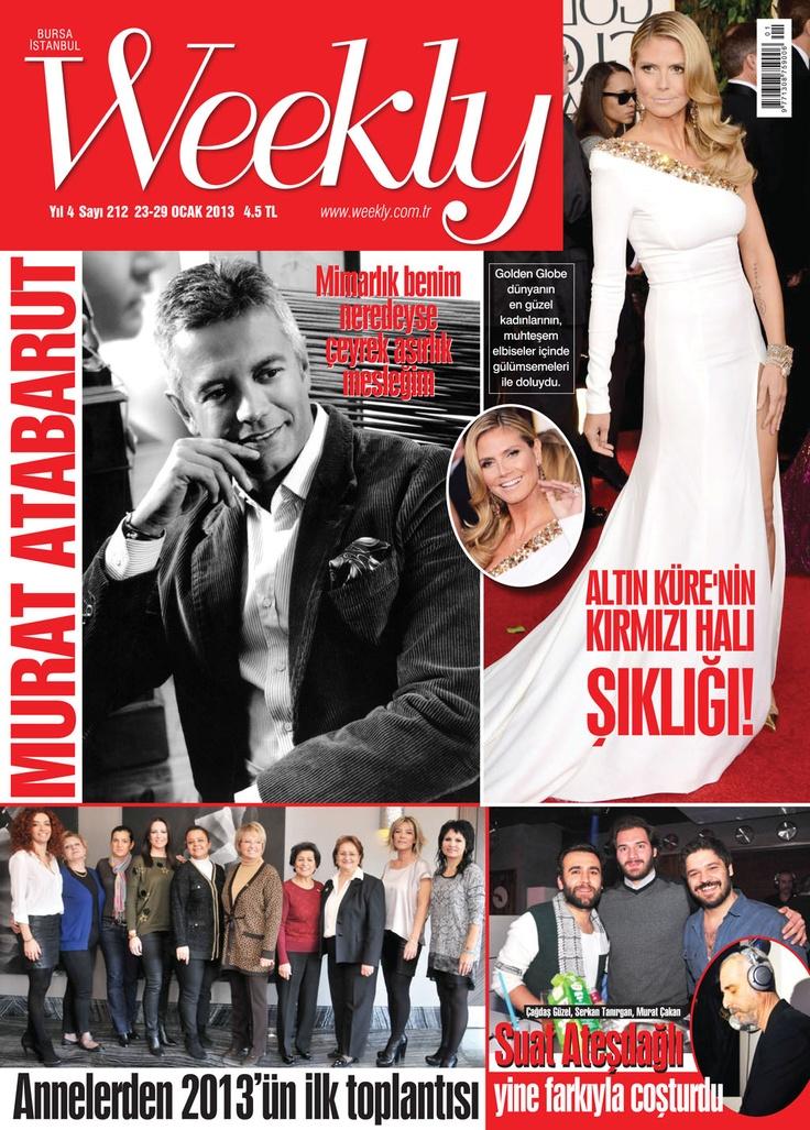 Weekly Dergi, 23-29 Ocak sayısı yayında! Hemen okumak için: http://www.dijimecmua.com/weekly/    Weekly Dergisi (Haftalık);  1 ay boyunca tüm sayıların dijital üyeliği 8 lira,  3 ay boyunca tüm sayıların dijital üyeliği 18 lira,  6 ay boyunca tüm sayıların dijital üyeliği 24 lira,  12 ay boyunca tüm sayıların dijital üyeliği 36 lira.    Üye olmak için tıkla: http://www.dijimecmua.com/index.php?c=m