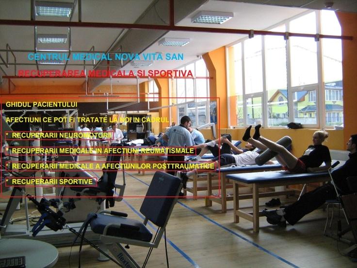 Recuperare sportivă: Centrul Medical NOVA VITA SAN