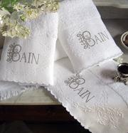 Luxury French Bathroom Towels