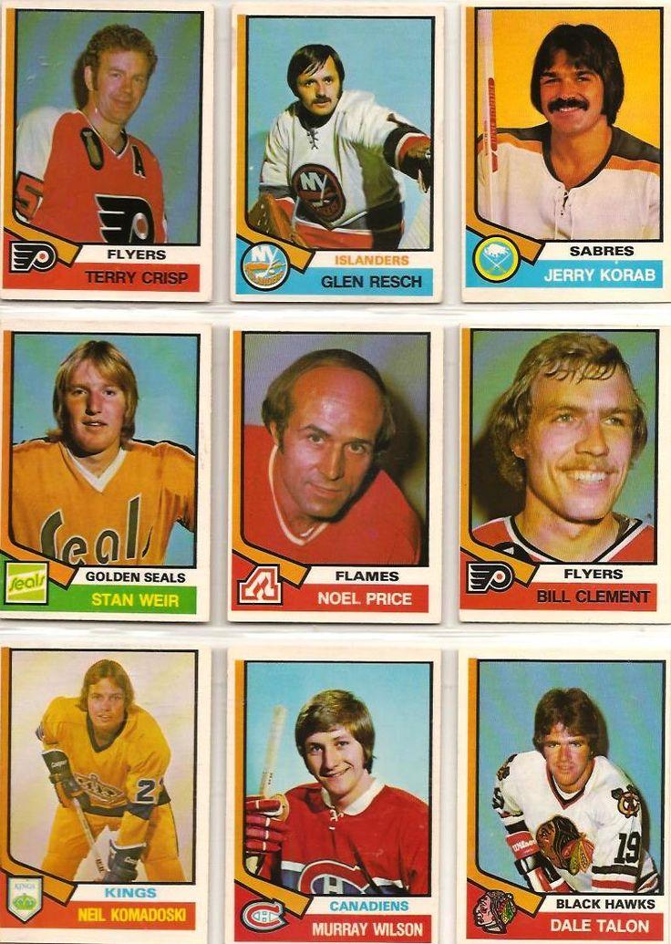 352-360 Terry Crisp, Glen Resch, Jerry Korab, Stan Weir, Noel Price, Bill…