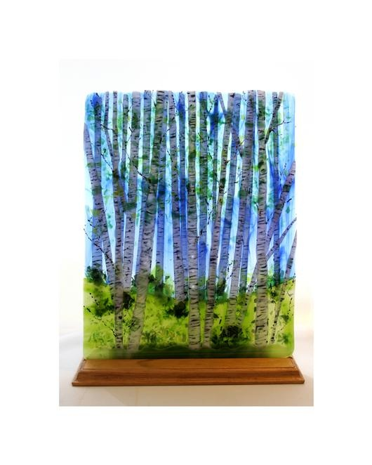 fused glass  I would love to have this piece for my vacation home in Birchwood Farms