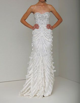 explore wedding dress display