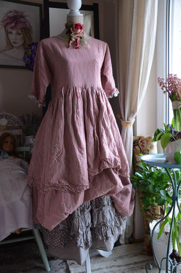 Rock Unterock Skirt LES Jupe Feeling Made IN Italy Lagenlook Ours Size | eBay