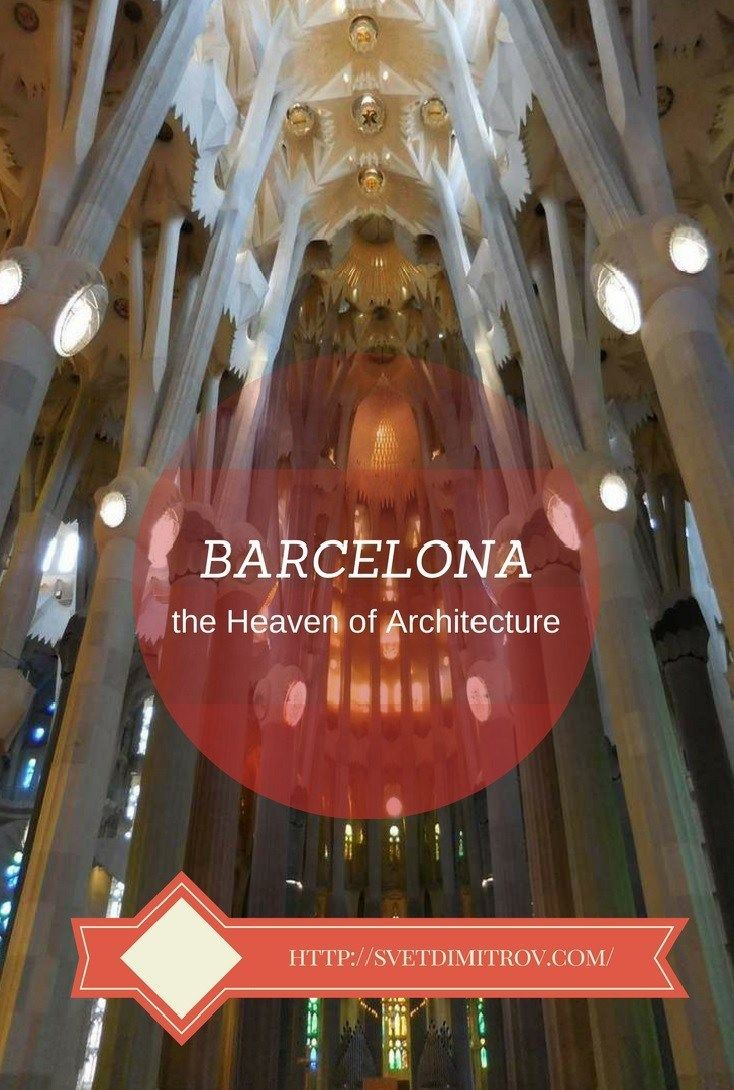 A walk around Barcelona's drop-dead gorgeous architecture.