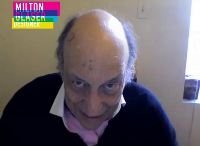 Frightening, but true. Milton Glaser – on the fear of failure.. Video by Berghs' Exhibition '11.