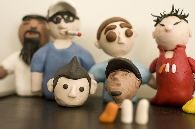 Claymation Party #the1stmovement