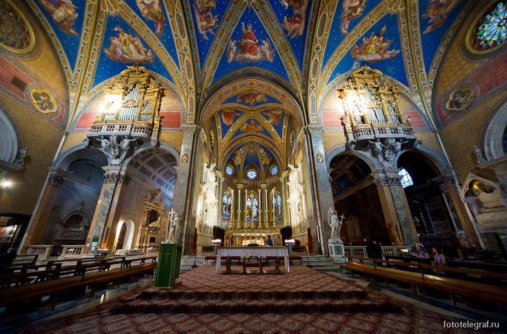 Прогулки по Риму. Старые католические церкви