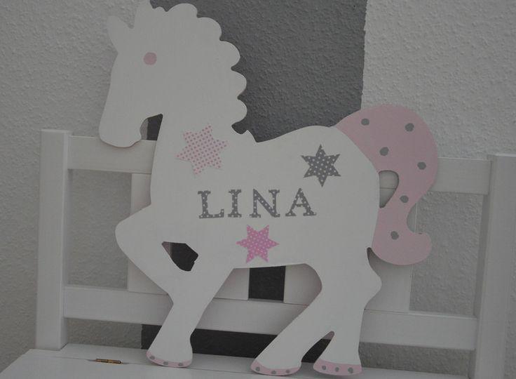 ♥ Namensschild Pferd von My Memories auf DaWanda.com