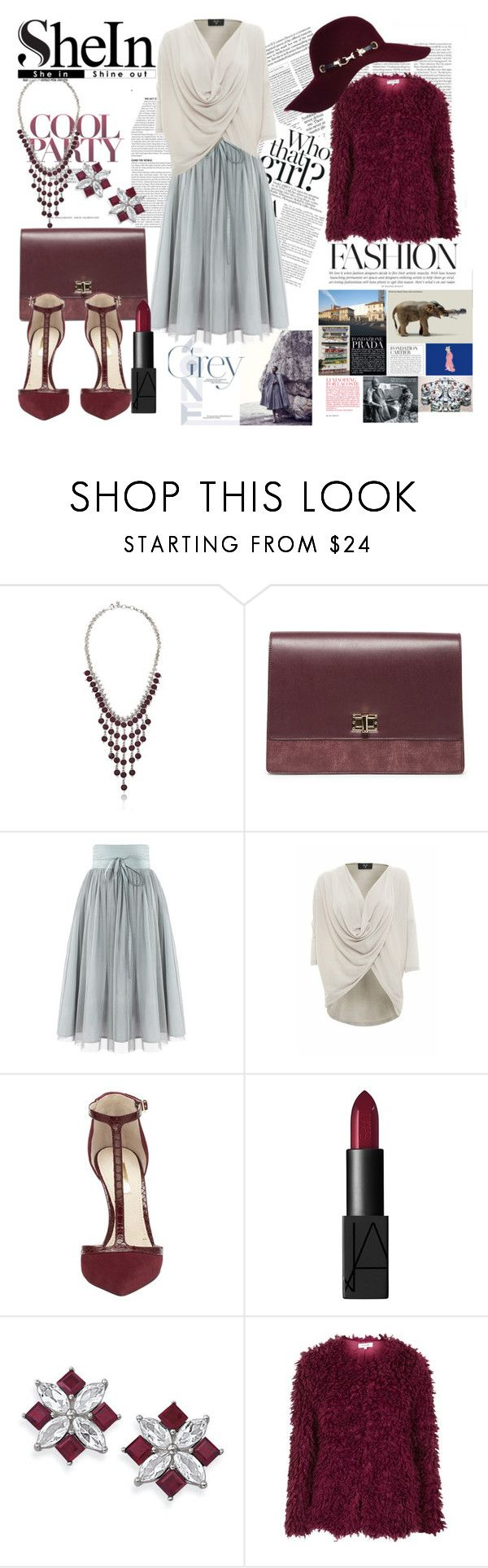 Untitled #174 by denisa-marcu on Polyvore featuring AX Paris, Topshop, Louise et Cie, Sole Society, Lucky Brand, Natures Jewelry, River Island, NARS Cosmetics and paris