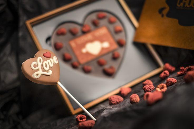 Czekoladowe Serca - I Love You #chocolate #chocolissimo #valentines #czekolada #love #giftsideas #iloveyou