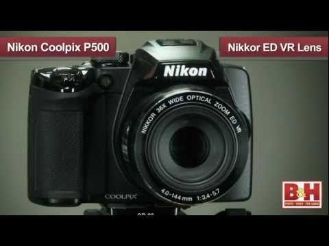 Nikon CoolPix P500 - YouTube