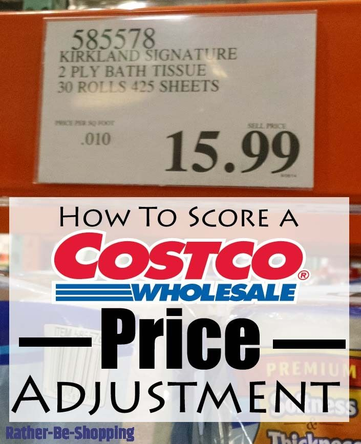 Costco Price Adjustment Everything You Need To Know To Make It Happen Costco Prices Costco How To Get Money