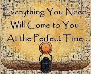 Everything you need will come to you...