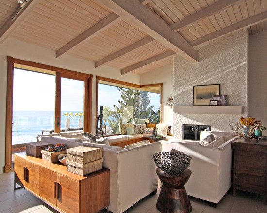 Lake House Design Ideas architecturepretty lake house architecture design ideas with brown wooden wall also complete with small Comfortable Family Room With Ocean View Eclectic Family Room San Diego Shelley Gardea Eclectic Family Room Lake House Design