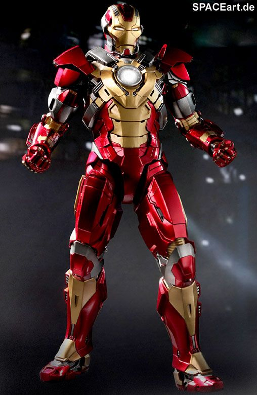 Iron Man 3: Heartbreaker Mark 17 - Deluxe Figur, Fertig-Modell ... http://spaceart.de/produkte/irm022.php