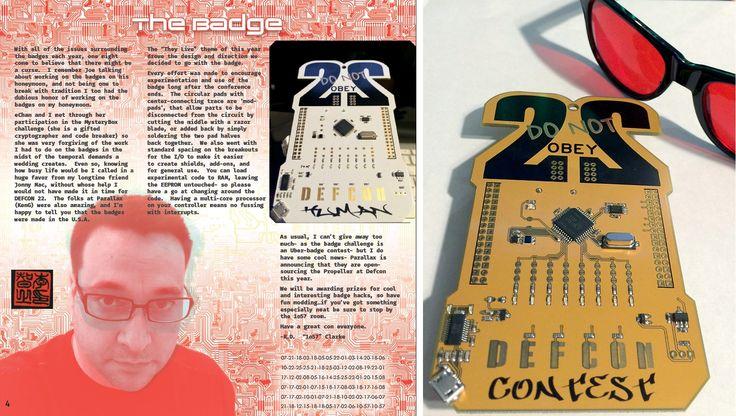 Meet the Puzzle Mastermind Who Designs Def Con's Hackable Badges