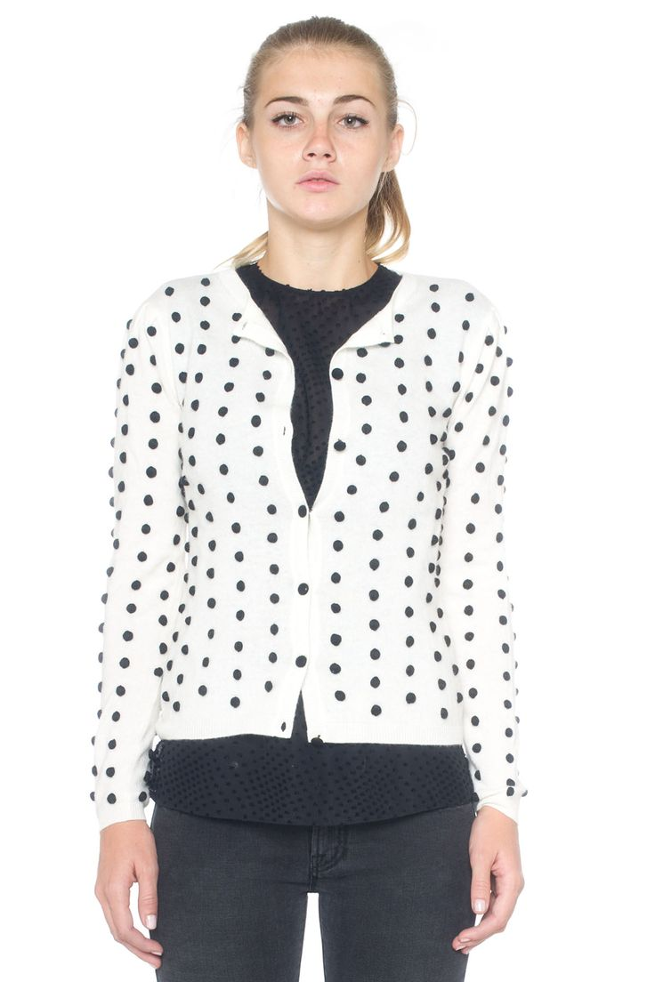 Cardigan with buttons - Euro 360   Red Valentino   Scaglione Shopping Online