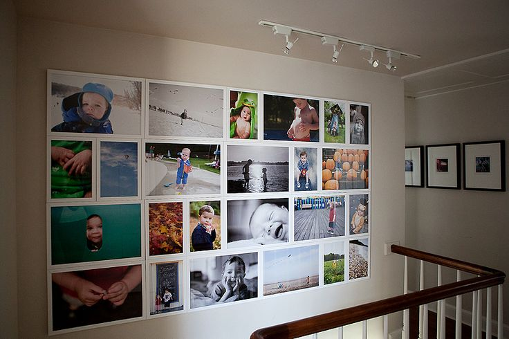 If only I thought I could actually hang frames with such perfection...this layout is AWESOME!