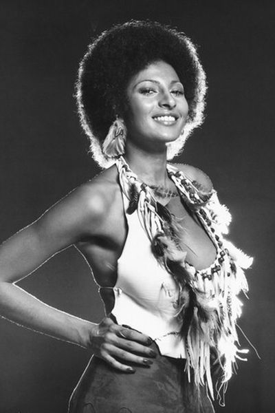 Pam Grier  Still kicking ass and looking great after 40 years