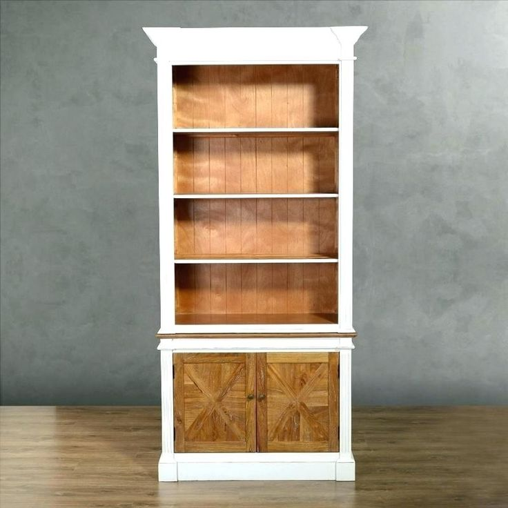 White Bookcase Wood White Solid Wood Bookcase With White Wood