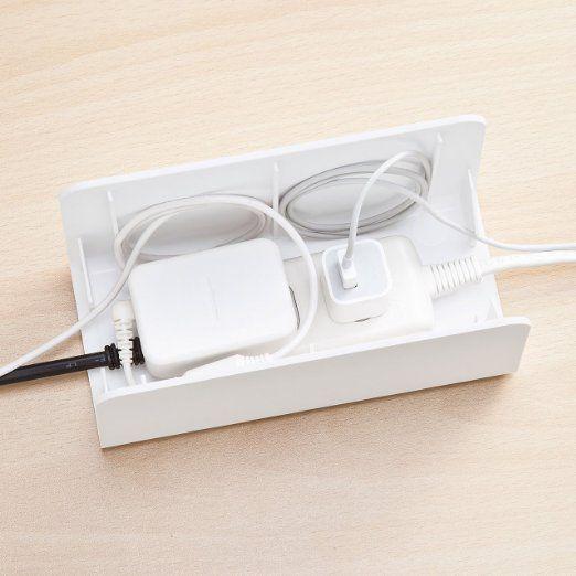 1,000 件以上の 「収納ケーブルボックス」のおしゃれアイデアまとめ ... Amazon.co.jp: サンワサプライ ケーブル&タップ収納ボックス ホワイト CB-BOXP7W