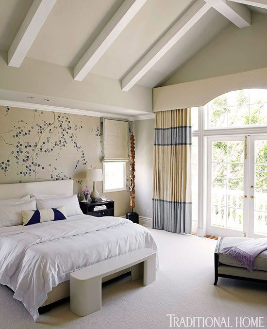 Bedrooms With Traditional Elegance: 17 Best Images About Colorblock Curtains On Pinterest