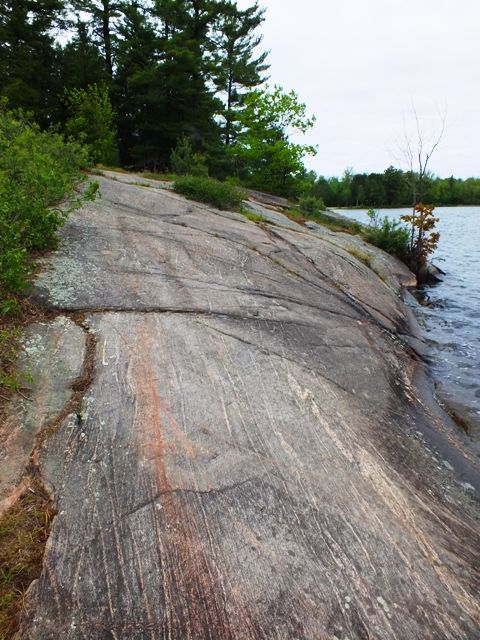 Love these...eroded granite rocks of canadian shield northern ontario