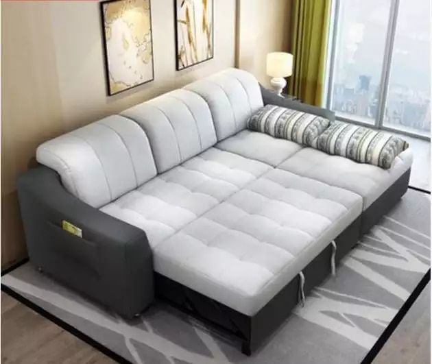 Divani Letto Ad Angolo Moderni.Tessuto Divano Letto Con Una Memoria Living Room Furniture Divano