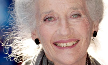 The actor Phyllida Law. SHE'S JUST SO GORGEOUS - and 80+ - GO GIRL!!Photograph: Julian Makey / Rex Features