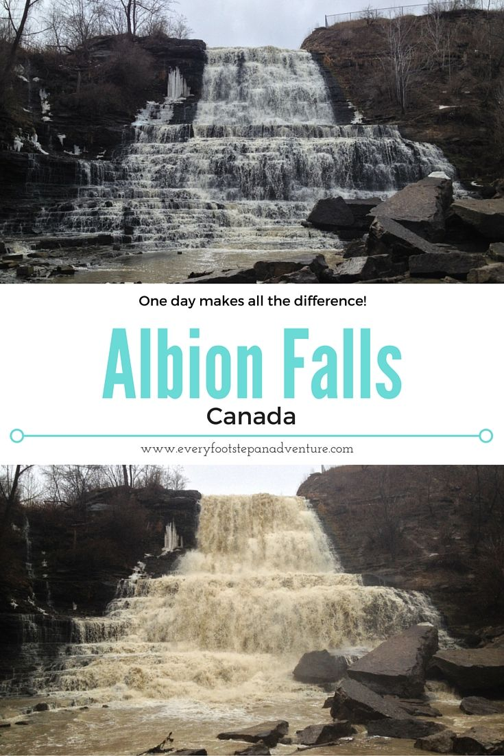 A Dangerous, Muddy Adventure at Albion Falls, Canada