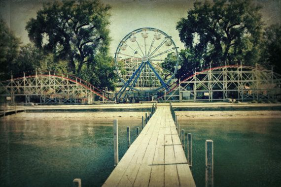 Arnolds Park- I was little miss Arnold's Park, 1989 and my daughter and I love amusement parks.  This is in my hometown.
