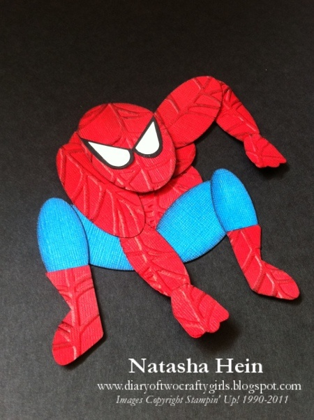 Diary of Two Crafty Girls: Punch Art (Spiderman)