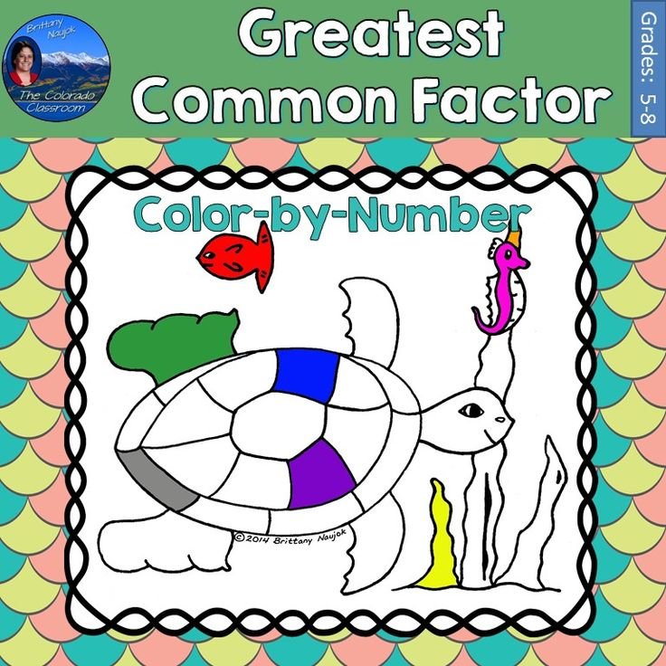 how to find common factors of numbers