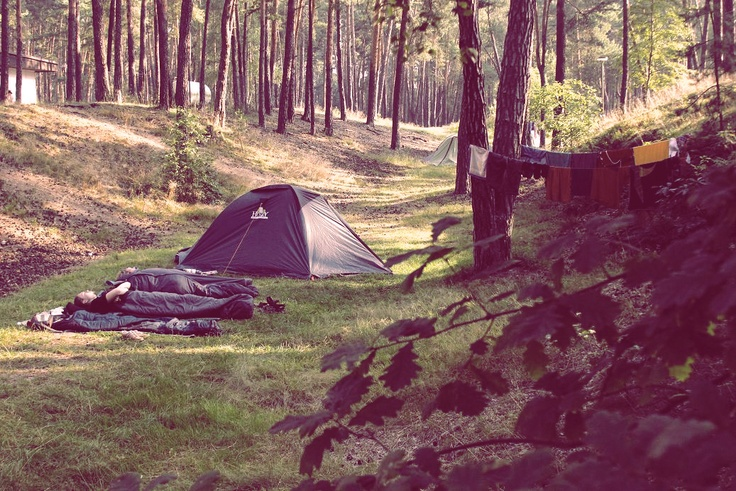in the footsteps of Karel Hynek Macha, camping in the Czech Republic ♥