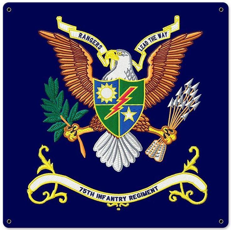 United States Army 75th Ranger Regiment Flag