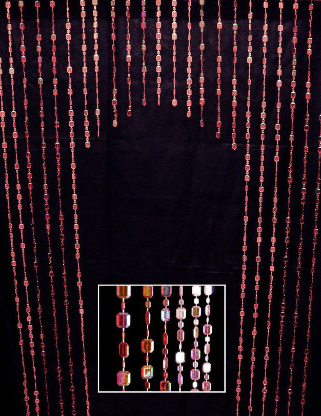192 Best Beaded Curtains Images On Pinterest Beaded Curtains Curtain Ideas And Valance Curtains