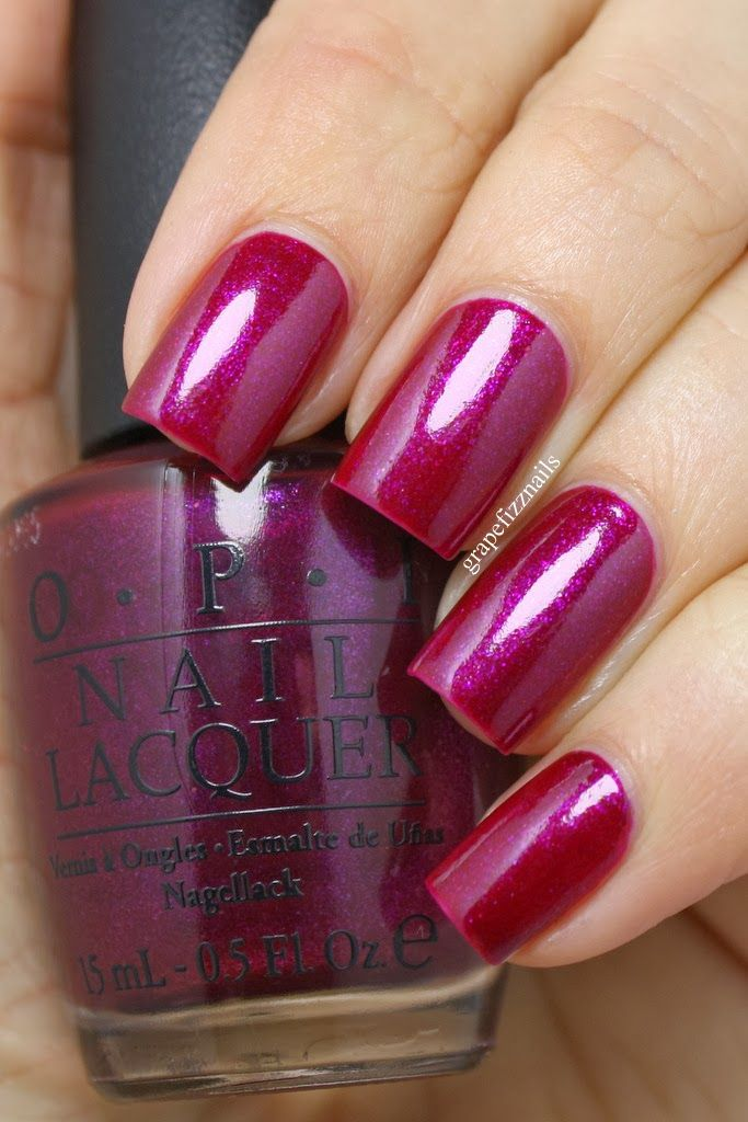 OPI Congeniality Is My Middle Name - grape fizz nails