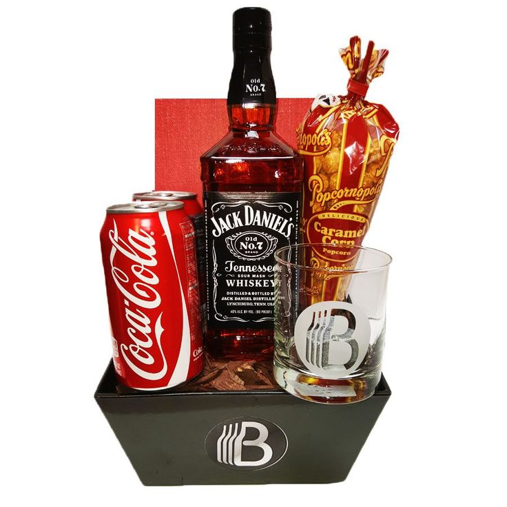 The Jack Daniels Gift Basket for the people in your life that want nothing more then a jack and coke at the end of a hard day.