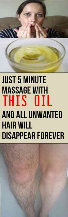 JUST 5 MINUTE MASSAGE WITH THIS OIL AND ALL UNWANTED HAIR WILL DISAPPEAR FOREVER - Healthy Tips World For this remedy you will need: -1 tbsp of iodine 2% -1 cup of baby oil Mix the. Rub your hairy area with this for few minutes -Leave it for 5 minutes -Wipe it off with damp cloth This oil will stop hair growth and soon all unwanted hair will disappear Thank You ! source:naturalmedicinehouse.com http://snip.ly/z8hr1