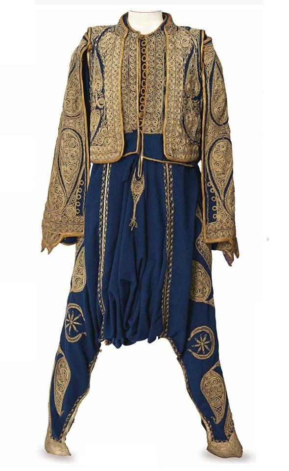AN OTTOMAN COURIER'S ENSEMBLE, EARLY 20TH CENTURY Bir Osmanlı Görevli Elbisesi, 20.YY Başı