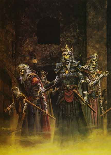 Gods of Lankhmar (Keith Parkinson, cover of AD&D Lankhmar ...