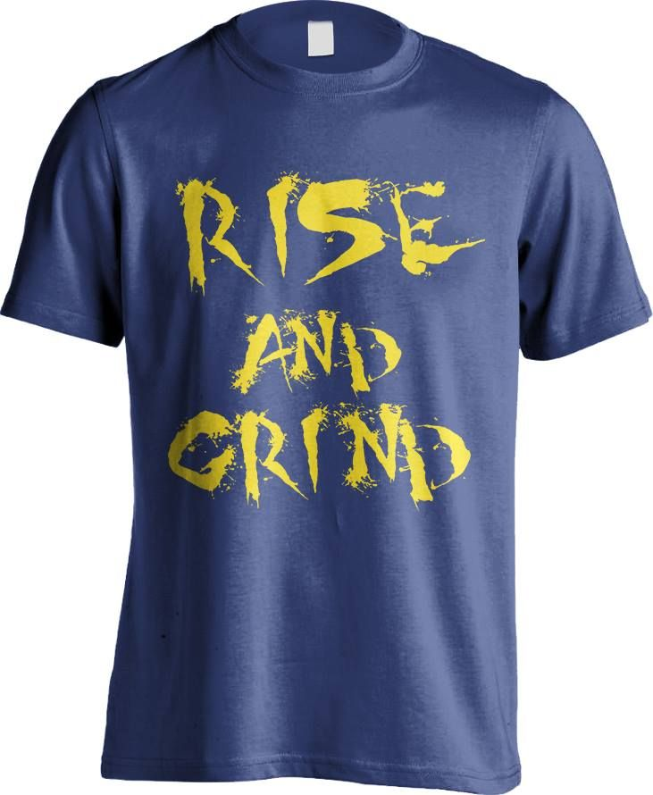 Rise and Grind Blue/Yellow