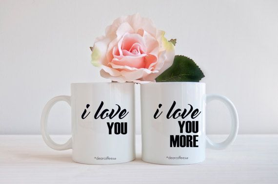Mr Mrs Mug Mr and Mrs Husband Wife Wedding Gift Mug Set