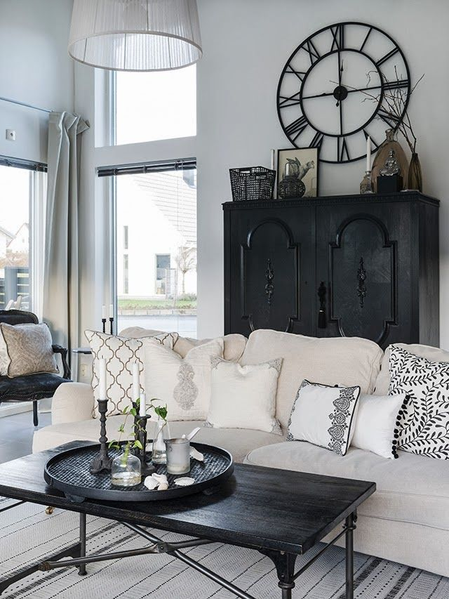 1000 ideas about black living room furniture on pinterest for Black and beige living room ideas