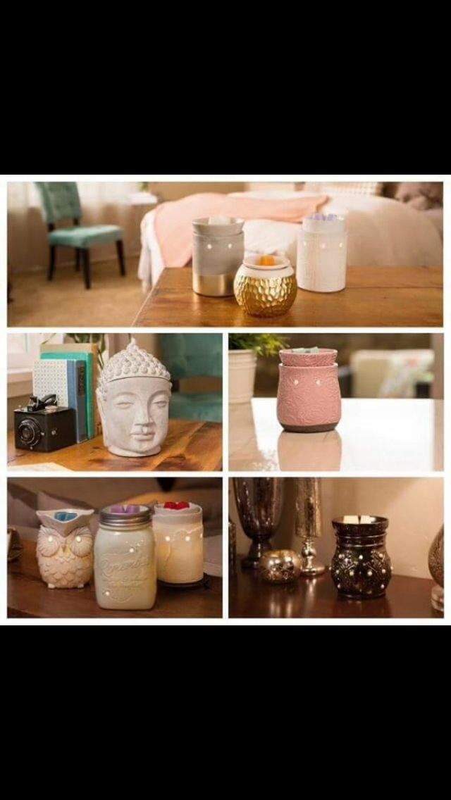 Beautiful selection of warmers. Welcome beautiful fragrance into your home in a safe way.  Frameless and wick less   emilyberry.scentsy.co.uk   Facebook group: Emily's Wick Free Home Scents