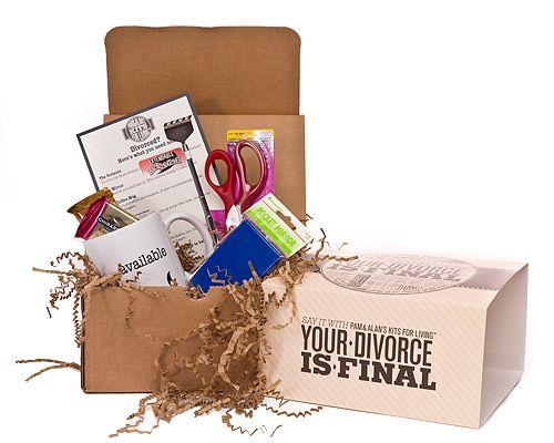 Divorce Kit http://www.uncommongoods.com/product/your-divorce-is-final-kit