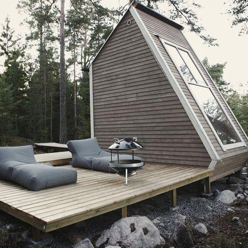 Les 11 meilleures images du tableau maison sur pinterest for Micro maison bois