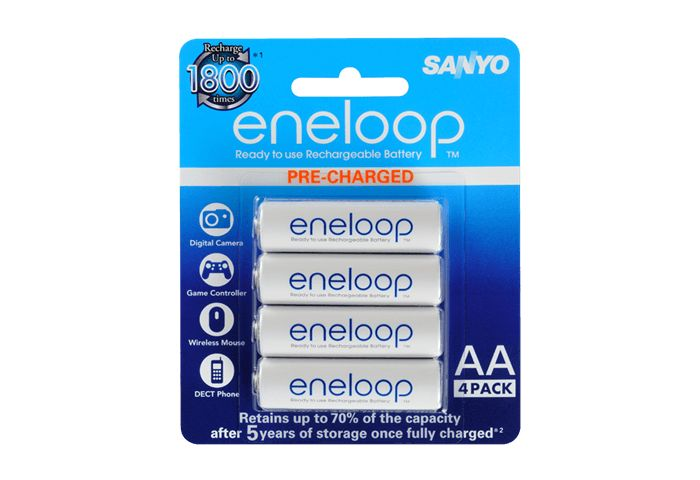 #SALE Price for short time  $14.88 Sanyo Eneloop AA Rechargeable Batteries 2000mAh - 4 Pack